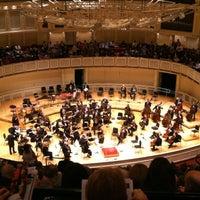Photo taken at Symphony Center (Chicago Symphony Orchestra) by Anna Zysman U. on 5/6/2012