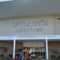 Photo taken at Taguatinga Shopping by Wanderson L. on 8/5/2012
