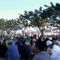 Photo taken at Lapangan Karebosi by erl m. on 8/18/2012