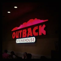 Photo taken at Outback Steakhouse by Natalia D. on 7/1/2012