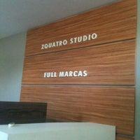 Photo taken at ZQuatro Studio by Fabio V. on 8/1/2012