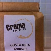 Photo taken at Crema Coffee by John T. on 2/22/2011
