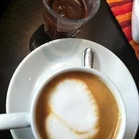 Photo taken at Gusto Di Caffè by Alessandra L. on 2/22/2012