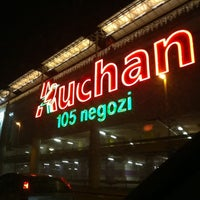 Photo taken at Centro Commerciale Auchan by Iacopo P. on 12/20/2010