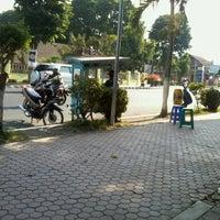Photo taken at Alun Alun Bondowoso by Tyo E. on 8/26/2012
