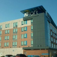 Photo taken at Aloft Tulsa by Cory on 10/3/2011