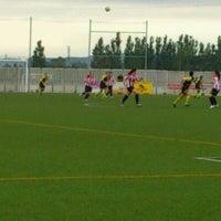 Photo taken at Camp De Futbol De St. Pere Pescador by Jaume S. on 5/13/2012