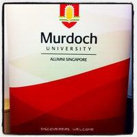 Photo taken at Wilkie Edge Level 5 (Murdoch University) by Karen Z. on 11/23/2011