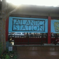 Photo taken at Atlantic Station by Ragan T. L. on 8/21/2012