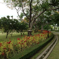 Photo taken at Queen Sirikit Park by monday O. on 6/30/2012