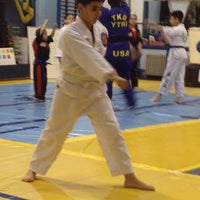 Photo taken at Yong K Kim Tae Kwon DO Research Institute. by Max P. on 4/5/2012