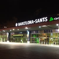 Photo taken at Barcelona Sants Railway Station by Maxim L. on 8/28/2012