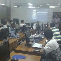 Photo taken at Jurusan Teknik Elektro dan Teknologi Informasi UGM by Fachry B. on 3/10/2012
