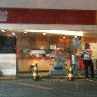 Photo taken at Auto Posto da Paz (Shell) by Paulo R. on 5/9/2012
