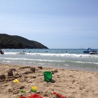 Photo taken at Spiaggia di Lacona by Andrea M. on 7/15/2012