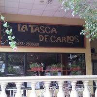 Photo taken at La Tasca de Carlos by Macarena R. on 7/3/2012