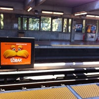 Photo taken at El Cerrito Plaza BART Station by RuLaZ L. on 4/18/2012