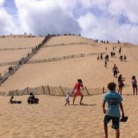 Photo taken at Dune du Pyla by Alicia R. on 8/11/2012