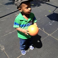 Photo taken at Jesse Owens Playground by Christina M. on 5/12/2012