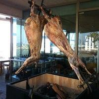 Photo taken at Restaurant Tierra de Fuego by Rodrigo F. on 4/14/2012