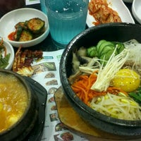 Photo taken at BCD Tofu House by Talisa C. on 12/20/2011