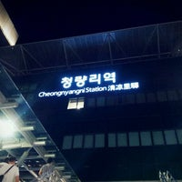 Photo taken at Cheongnyangni Stn. by Bo-Yoon C. on 6/19/2012