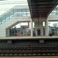 Photo taken at NJT - Hamilton Station (NEC) by Nancy R. on 12/27/2011