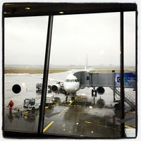 Photo taken at Lille Airport (LIL) by Roel C. on 3/7/2012