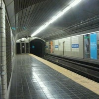 Photo taken at Exchange Place PATH Station by The Official Khalis on 10/16/2011