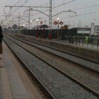Photo taken at RENFE El Masnou by Strisce L. on 2/7/2011