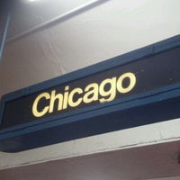 Photo taken at CTA - Chicago (Blue) by Chris D. on 2/9/2012