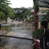 Photo taken at Phatad Valley Hotel Kanchanaburi by Warakorn S. on 6/30/2012