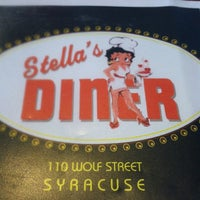 Photo taken at Stella's Diner by Justin H. on 8/23/2012