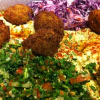 Photo taken at Naf Naf Grill by maddie on 1/25/2012