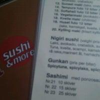 Photo taken at Eat Sushi & More by Magnus B. on 9/17/2011