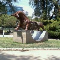 Photo taken at Parque de las Esculturas by Juan Carlos G. on 11/6/2011