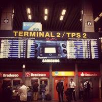 Photo taken at Terminal 2 (TPS2) by Eric C. on 11/6/2011