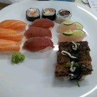 Photo taken at Wok Sushi by Pedro H. on 1/30/2012