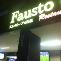 Photo taken at Fausto & Manoel by Ingrid A. on 1/10/2012