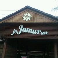 Photo taken at Jejamuran Resto by W. A. P. on 7/20/2012