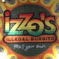 Photo taken at Izzo's Illegal Burrito by Brett D. on 6/27/2012