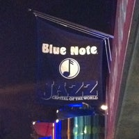Photo taken at Blue Note by Fabi G. on 8/12/2012