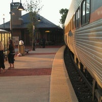 Photo taken at Frederick MARC Station by Aaron A. on 9/15/2011