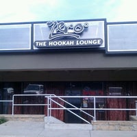 Photo taken at Zero Degree Hookah Lounge by Lane G. on 3/1/2012