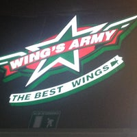 Photo taken at Wings Army by Alejandro F. on 6/14/2012