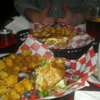Photo taken at Basement Burger Bar by Shelly P. on 10/21/2011