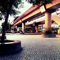 Photo taken at MRT Zhishan Station by Laban C. on 9/20/2011