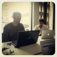 Photo taken at Café Stiften by Rasmus J. on 7/16/2012