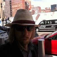 Photo taken at Megabus Bus Stop by Paul K. on 4/9/2012