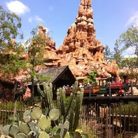 Photo taken at Big Thunder Mountain Railroad by Bloompy B. on 4/27/2012